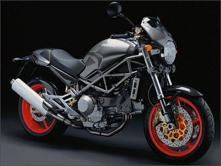 Ducati Monster  Top Speed Km H